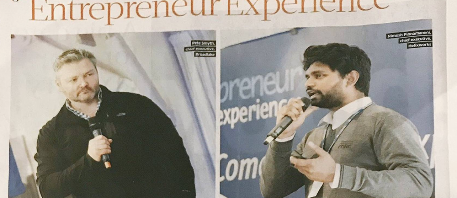 The Entrepreneur Experience 2017 – Sunday Business Post