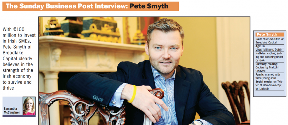 The Sunday Business Post Interview: Pete Smyth